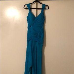 Caché Luxe Silk Chiffon Dress